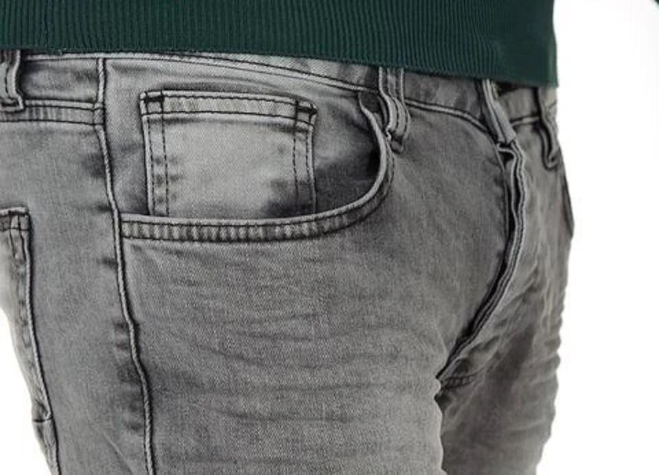 Le jeans gris pour homme