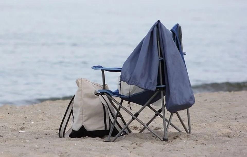 chaise de plage pliante, un siège pliable et léger