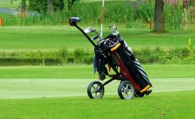 Caddie pour le golf
