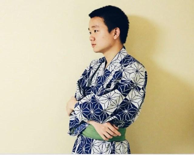 kimono homme style peignoir pour la détente