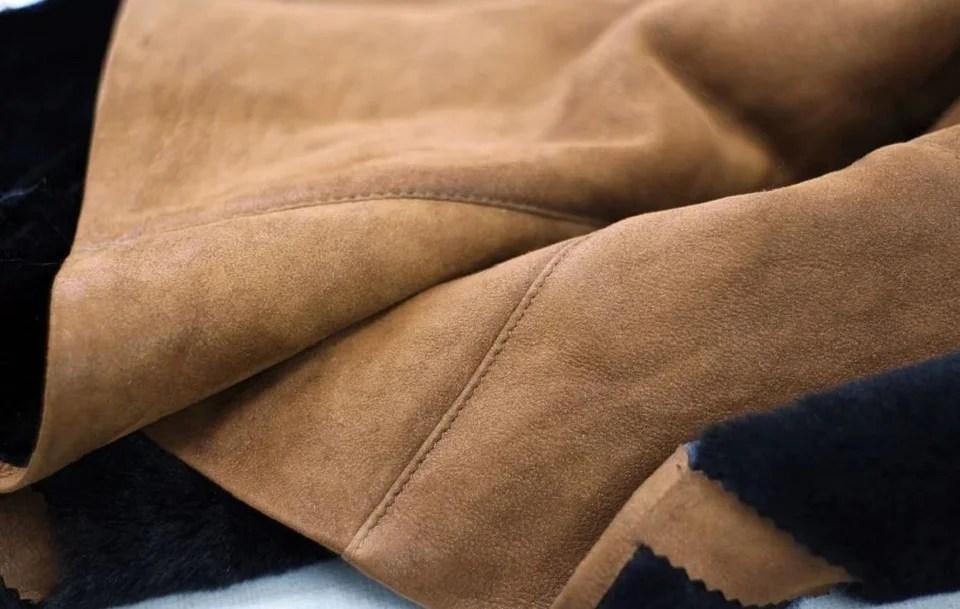 Vêtement homme en daim : comment porter le cuir velours avec style