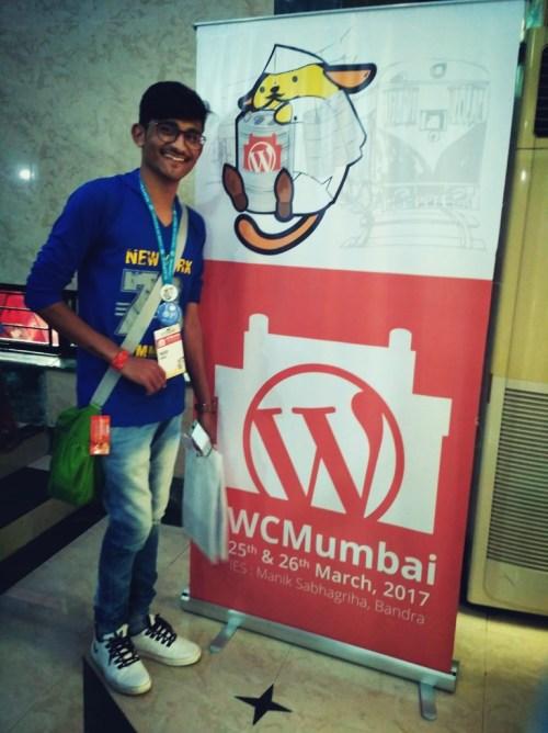 Pravin by the WordCamp Mumbai tag