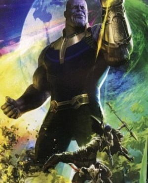 Thanos in Avengers: Infinity War (2018) | Marvel Movie