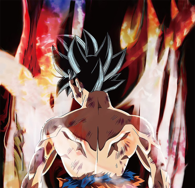 Goku's new Saiyan form in the Survival Tournament