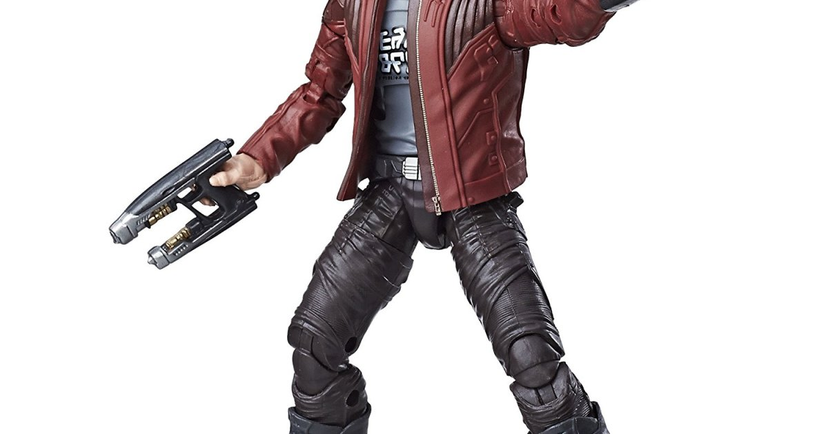 Star Lord toy Top 5 Marvel Legends Action Figures