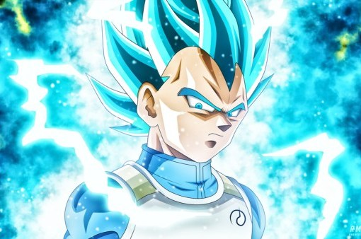 Super Saiyan Blue Vegeta