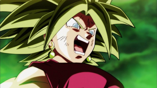 Super Saiyan Kefla in DBS episode 116
