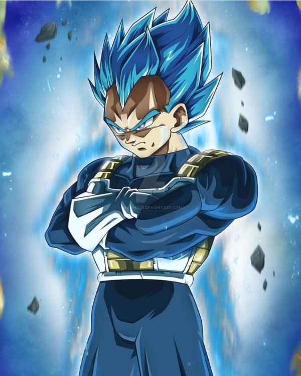 Dragon ball super tease vegetas completed super saiyan blue perfected super saiyan blue vegeta in dbs episode 123 sciox Choice Image