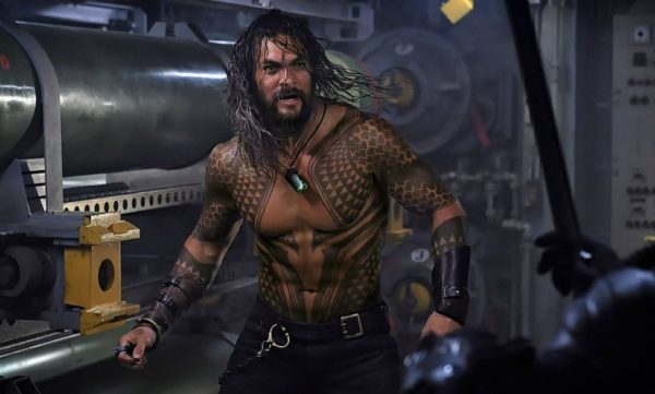 Jason Momoa as Arthur Curry as Aquaman