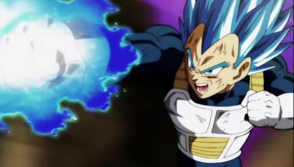 Limit Breaker Vegeta defeat Toppo in Dragon Bal Super 126