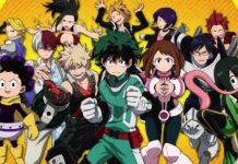 My Hero Academia all young heroes from Class 1-A