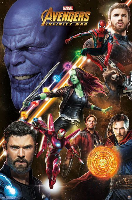 New promo poster of Avengers Infinity War