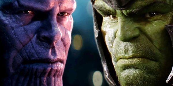 Thanos vs Hulk in Avengers: Infinity War