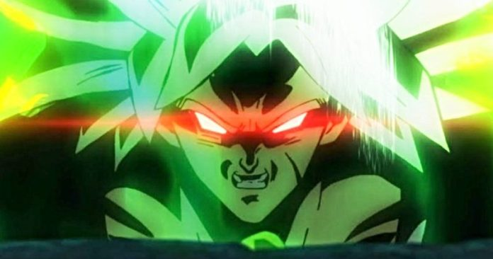 Broly in Dragon Ball Super movie