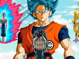 Goku in Dragon Ball Heroes anime