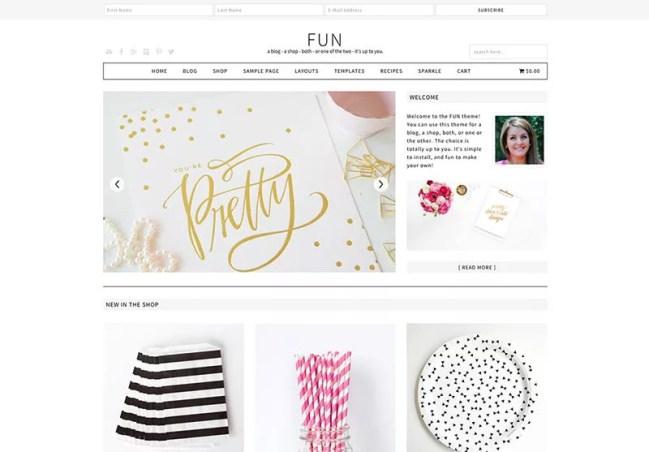 Fun WordPress Theme - Minimalist blog themes wordpress themes - 10 Stunningly Beautiful & Unique Minimalist Themes For Your WordPress Blog   herpaperroute.com