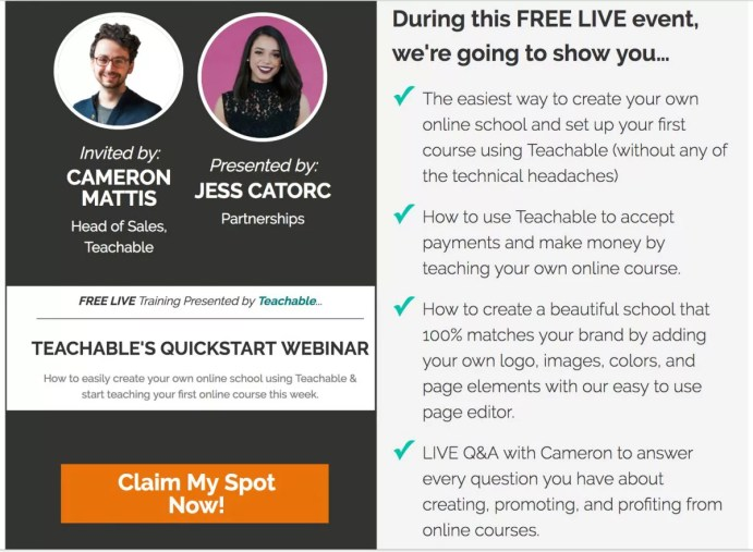 Learn to create launch and sell your own online course - teachable - live training- quickstart guide- to selling online courses - How to start a money making blog - Blog Boss - Profitable From The Start - The Complete Blogging Business- Everything You Need To Know To Create, Run, Market And Monetize A Blog In 2017 - online course | herpaperroute.com