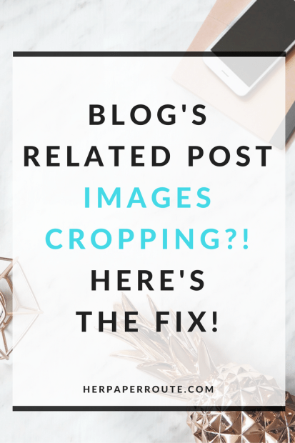 Is WordPress or JetPack cropping your 'related iposts' images? Do you want Pinterest size images as related posts? Related Post Image Cropping Fix - Passive Income - Affiliates - Content - Social Media - Management - SEO - Promote | www.herpaperroute.com
