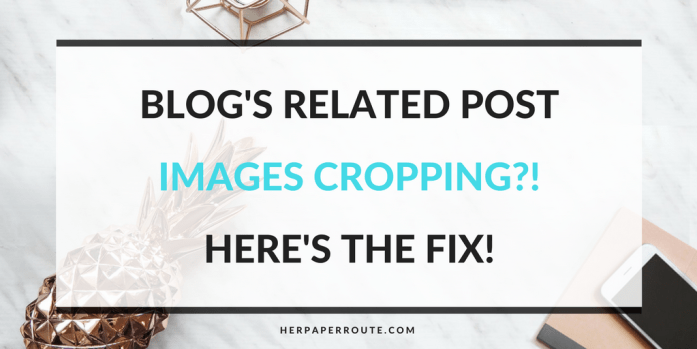 Is WordPress or JetPack cropping your 'related posts' images? Do you want Pinterest size images as related posts? Related Post Image Cropping Fix - Passive Income - Affiliates - Content - Social Media - Management - SEO - Promote   www.herpaperroute.com