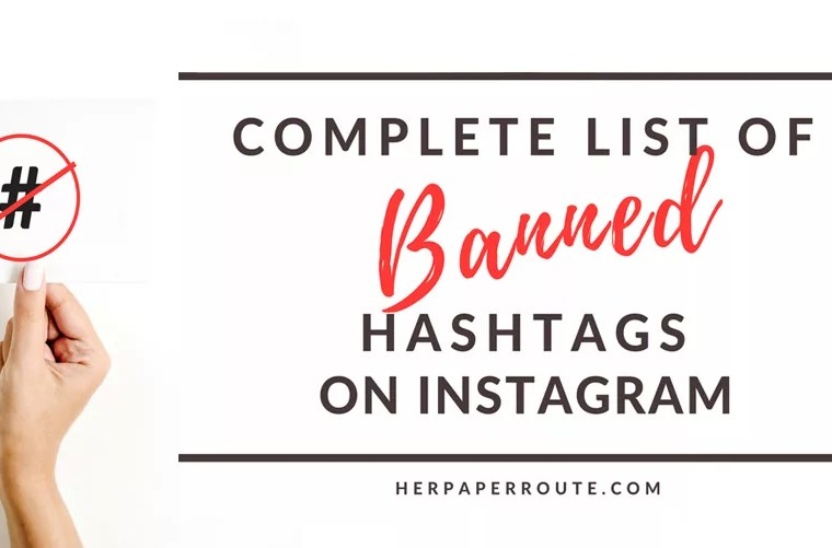 Complete list of banned hashtags on instagram. Heres What You Need To Know - Have You Been Shadowbanned? How To Actually Make Money Blogging Tools And Resouces - Passive Income - Affiliates - Content - Social Media - Management - SEO - Promote   www.herpaperroute.com
