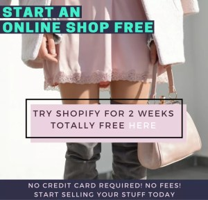 Real Ways To Make Money From Home - Try shopify for 2 weeks totally free - wahm - make money online - sahm | www.herpaperroute.com