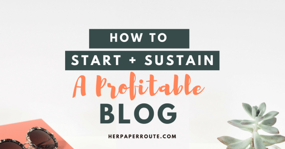 How To Start A Profitable Blog - Easy WordPress Set Up - Best Hosting - Affiliate Marketing - ecourse course training compplete blogging business marketing   www.herpaperroute.com