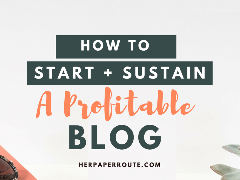 How To Start A Profitable Blog - Easy WordPress Set Up- SiteGroundHosting - Best Hosting - Affiliate Marketing - ecourse course training compplete blogging business marketing | www.herpaperroute.com