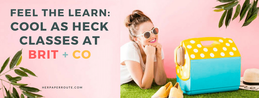 Learn a new skill today - unique education - online classes - MOMBLOGGERS niches make money blogging network make money blogging herpaperroute.com