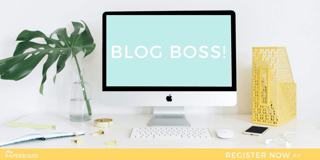 The profitable blog blueprint blog boss course herpaperroute blog boss profitable from the start the complete blogging business everything you need malvernweather Gallery