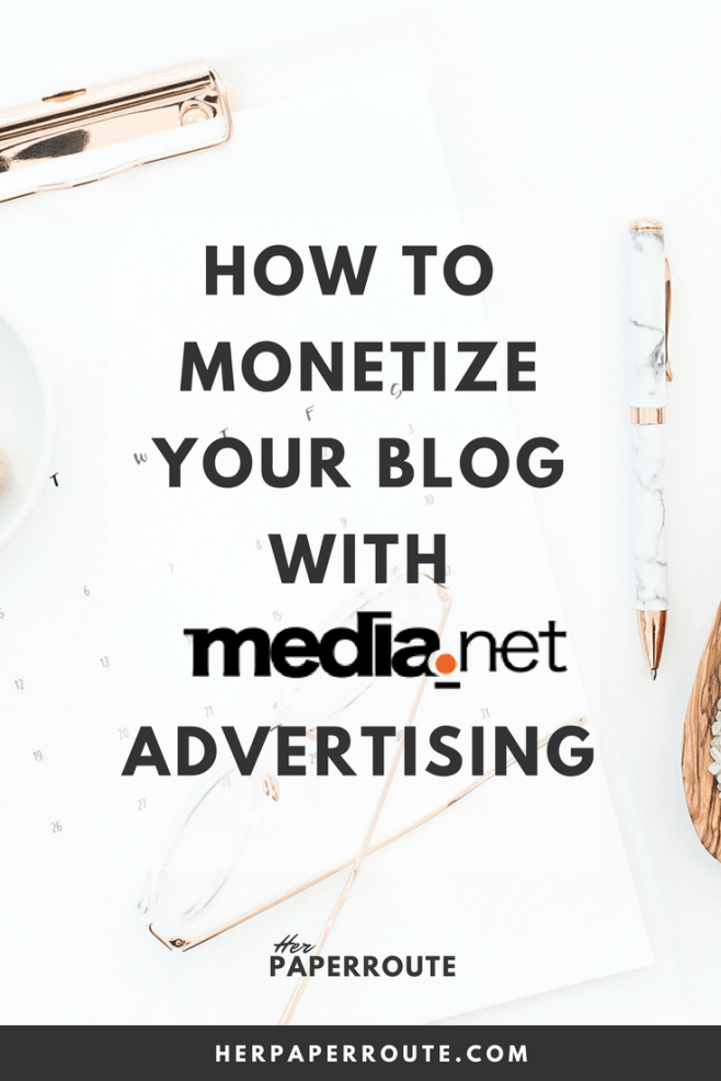 How to monetize your blog with medianet advertising - make money blogging - High Paying Affiliate Programs Bloggers Can Join - Make Money Blogging | www.herpaperroute.com