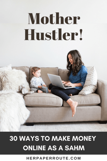 Mother Hustler - Book - How to make money online sahm mompreneur (1)
