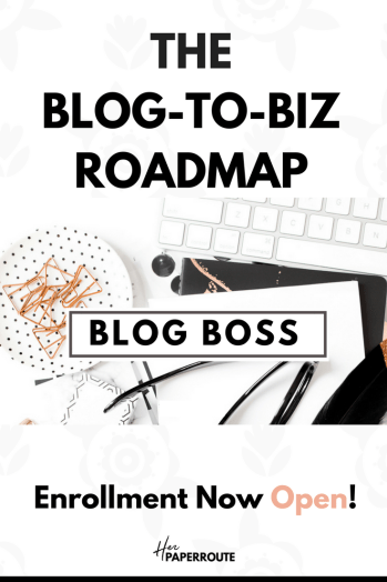 blog boss learn affiliate marketing course how to make money blogging herpaperroute