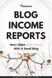 blog income report how to make money blogging - affiliate marketing course how to make money blogging herpaperroute.com
