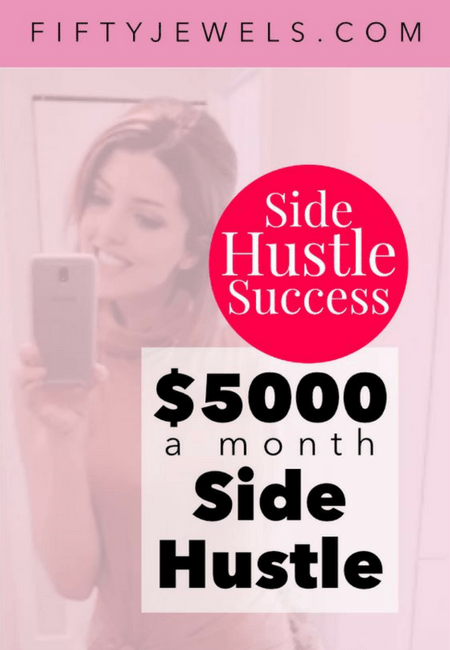 chelsea clarke interview side hustle success
