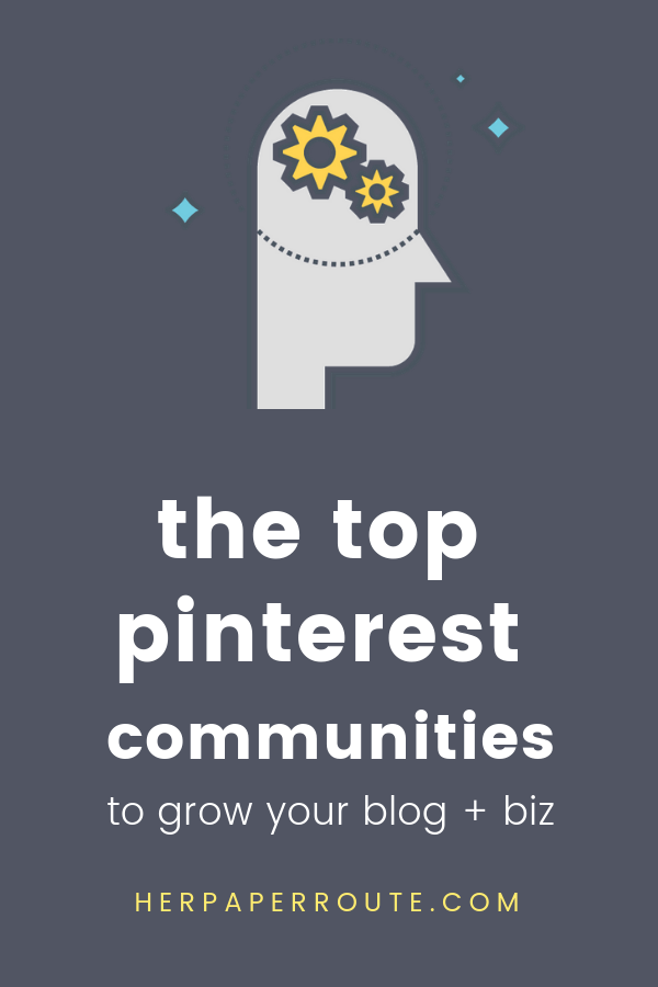 Have you heard of the new Pinterest Communities feature - viral pin formula how to make pins go viral on pinterest marketing tips pinterest course new pinterest communities feature pinterest marketing course herpaperroute.com