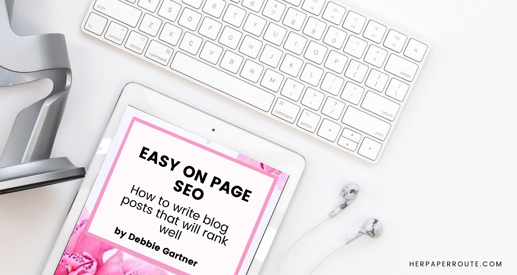 Easy On-Page SEO Tips Book by Debbie Gartner, Review 2