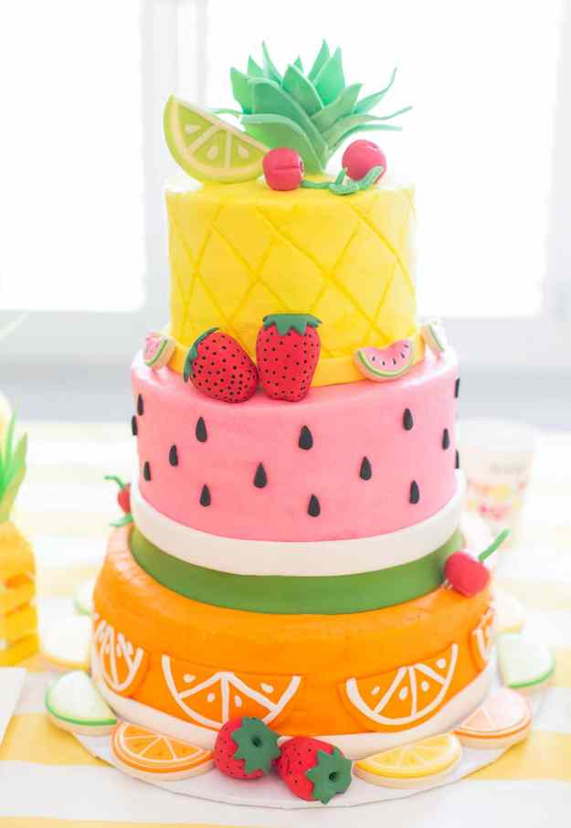 fruit-themed-birthday-cake