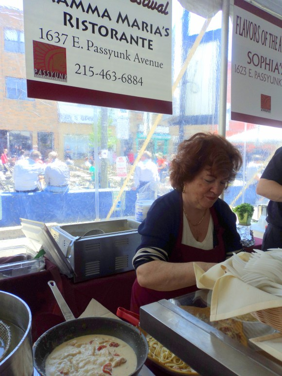 Mamma of Mamma Maria's at East Passyunk Avenue's Flavors of the Avenue / Her Philly