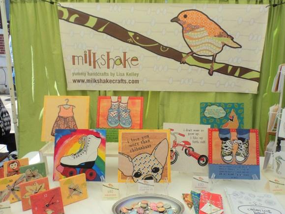 Milkshake Crafts at the East Passyunk Avenue Crafty Balboa Craft Fair / Her Philly