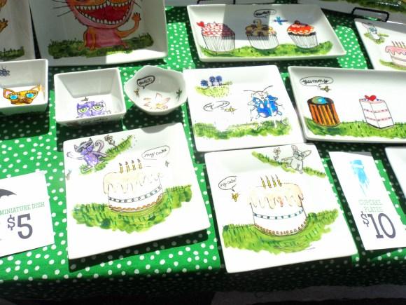 Superdeduper illustrations at East Passyunk Avenue Crafty Balboa Craft Fair / Her Philly