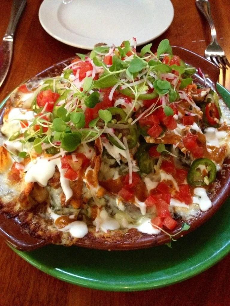 Shortrib nachos at La Calaca Feliz in Philadelphia // Her Philly