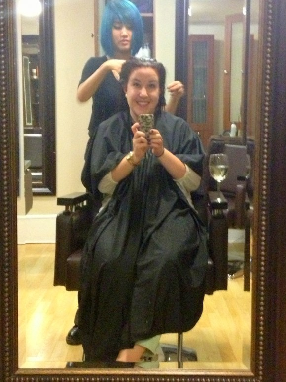 Hair Cut & Color for HopeCuts13 // Her Philly