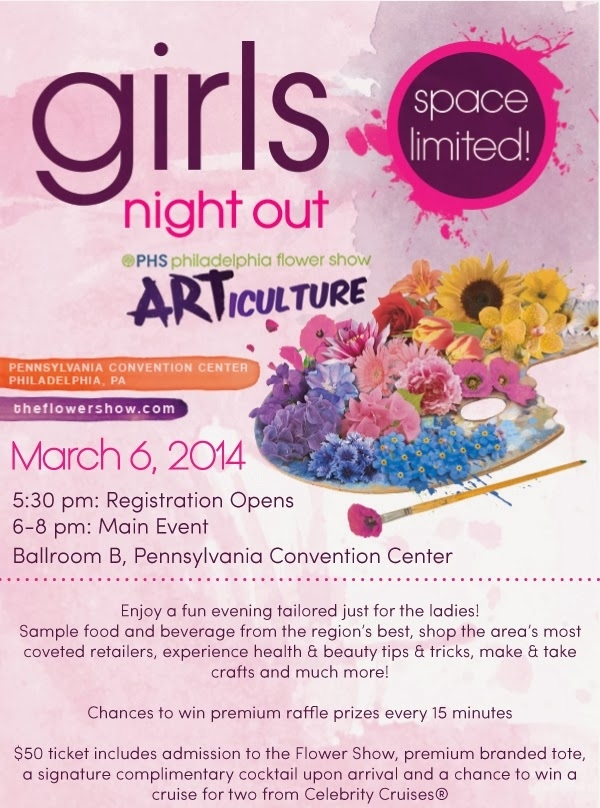Philadelphia Flower Show Girls Night Out / Her Philly