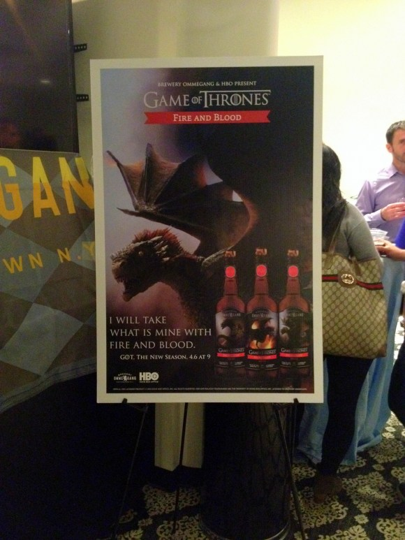 New Game of Thrones Targaryen beer