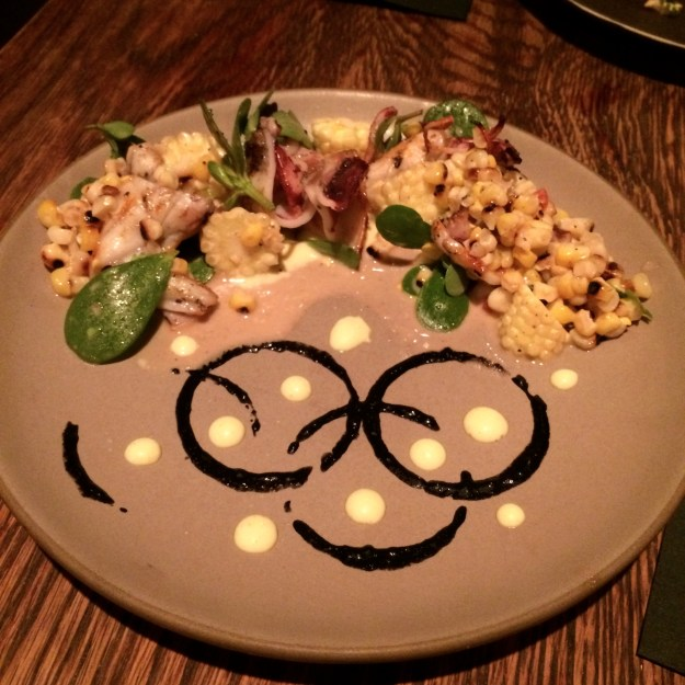 Squid & Corn Salad at High Street on Market // Her Philly