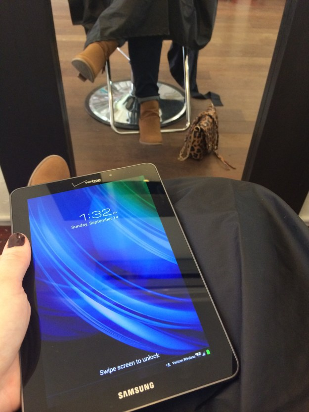 How to multitask using the Samsung Galaxy Tab 4 // Her Philly