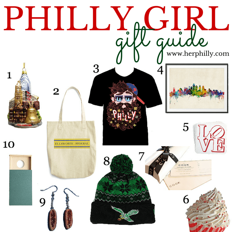 Philadelphia Gifts to Get a Girl this Holiday // Her Philly