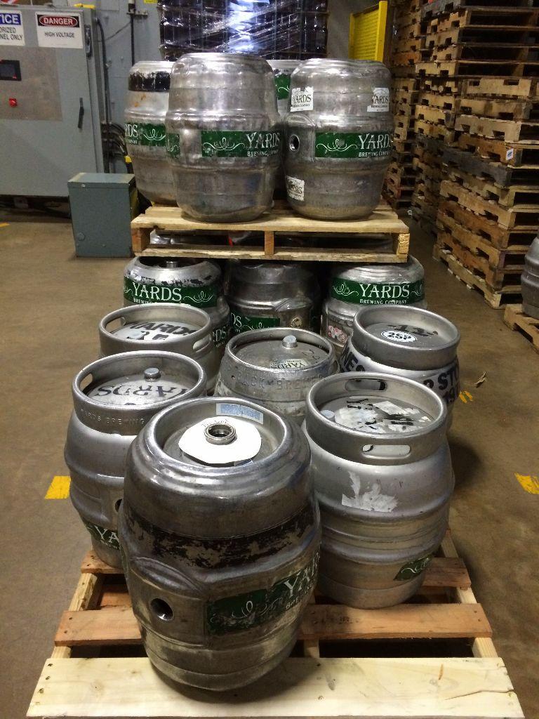Yards Brewery Kegs