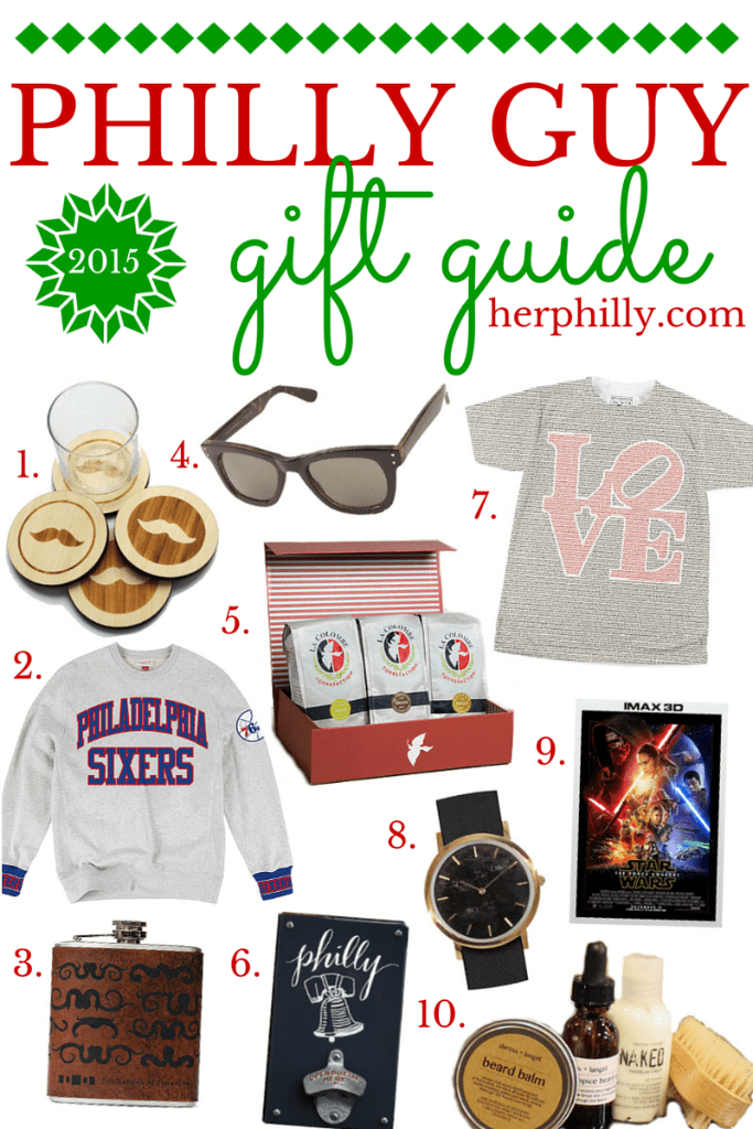 Gift Ideas for Philly Men