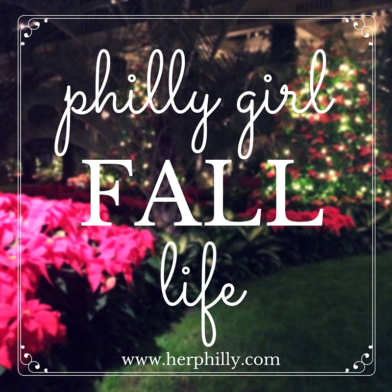 living in philly in the fall